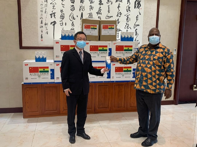 COVID-19: Fujian Provincial donates facemasks and thermometres to the Greater Accra Region