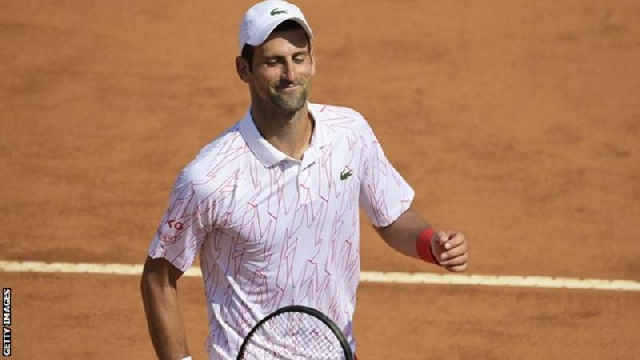 Novak Djokovic wins first match after US Open disqualification