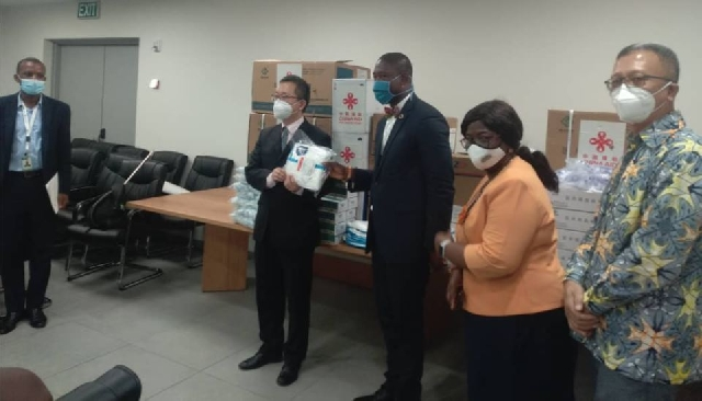 COVID-19: China presents second batch of medical supplies to Ghana