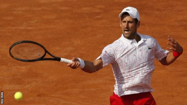 Novak Djokovic through to Italian Open final